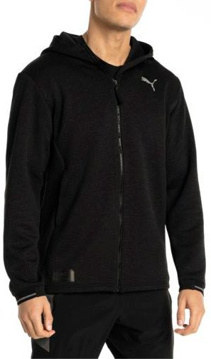 Bunda s kapucňou Puma N.R.G. Fullzip Jacket Black Heather