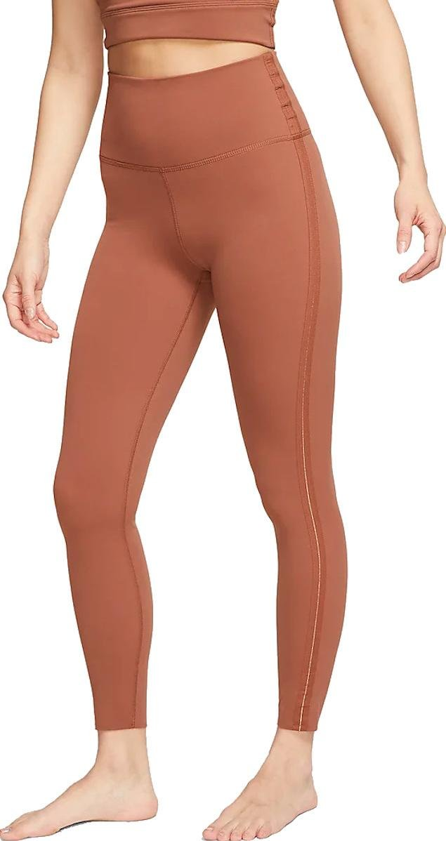 Legíny Nike W NK YOGA LUXE CN 7/8 TIGHT